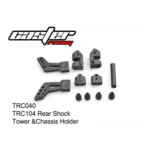 TRC040  TRC104 Rear Shock Tower & Chassis Holder
