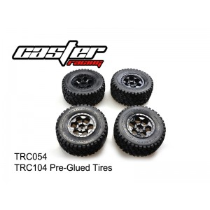 TRC054  TRC104 Pre-Glued Tires
