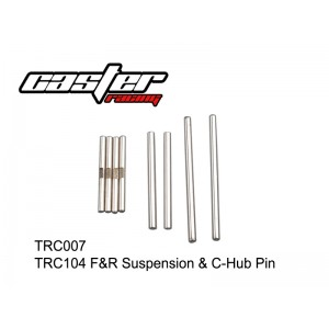 TRC007  TRC104 F&R Suspension & C-Hub Pin