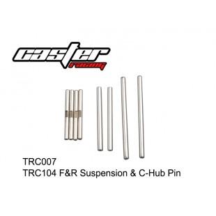 TRC007  TRC104 F&R Suspension & C-Hub Pin