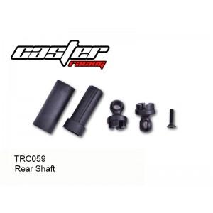 TRC059  TRC104 Rear Shaft