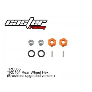 TRC065 TRC Rear Wheel Hex(Brushless upgraded version)