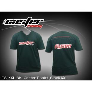TS-XXL-BK  Caster T shirt ,Black XXL