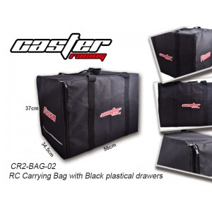 CR2-Bag-02  RC Carrying Bag(Black plastical drawers )