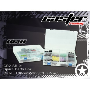 CR2-SB-01   Spare Parts Box (Size : L30cmxW20cmxH6.2cm )