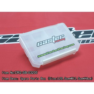 CR2-SB-03205  Spare Parts Box (Size : L20.5cm*W13.5cm*H4cm )