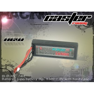 BLB-30C-74H   Battery:  Lipo: battery 30C 5300 7.4V with hard case