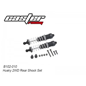 B102-010 Husky 2WD Rear Shock Set