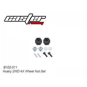 B102-011 Husky 2WD 4X Wheel Nut Set