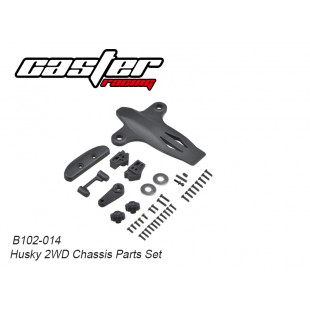 B102-014 Husky 2WD Chassis Parts Set