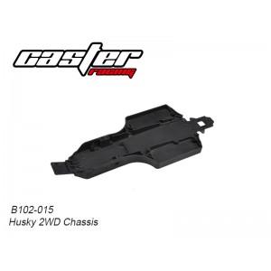 B102-015 Husky 2WD Chassis