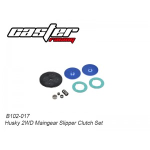 B102-017 Husky 2WD Maingear Slipper Clutch Set