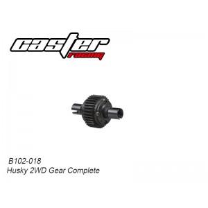 B102-018 Husky 2WD Gear Complete