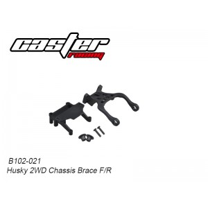 B102-021 Husky 2WD Chassis Brace F/R