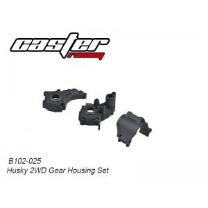 B102-025 Husky 2WD Gear Housing Set