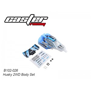 B102-026 Husky 2WD Body Set