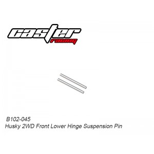 B102-045 Husky 2WD Front Lower Hinge Suspension Pin
