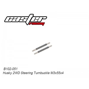 B102-051 Husky 2WD Steering Turnbuckle M3x55x4