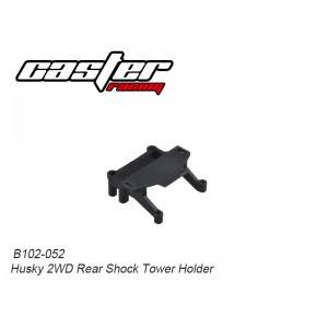 B102-052 Husky 2WD Rear Shock Tower Holder