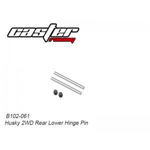 B102-061 Husky 2WD Rear Lower Hinge Pin