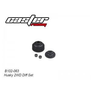B102-063 Husky 2WD Diff Set