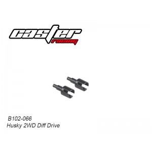 B102-066 Husky 2WD Diff Drive