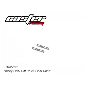 B102-072 Husky 2WD Diff Bevel Gear Shaft
