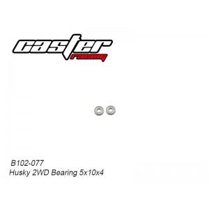 B102-077 Husky 2WD Bearing 5x10x4