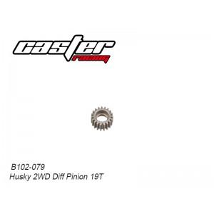 B102-079 Husky 2WD Diff Pinion 19T
