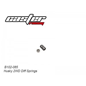 B102-085 Husky 2WD Center Diff Springs