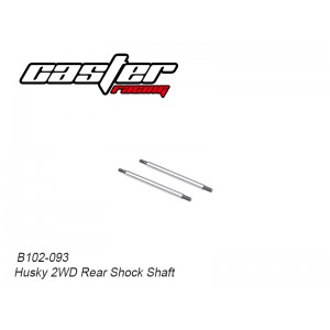 B102-093 Husky 2WD Rear Shock Shaft