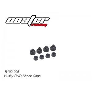 B102-096 Husky 2WD Shock Caps