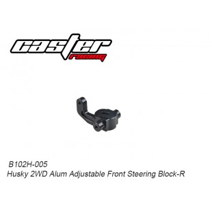 B102H-005 Husky 2WD Alum Adjustable Front Steering Block-R