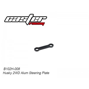 B102H-008 Husky 2WD Alum Steering Plate