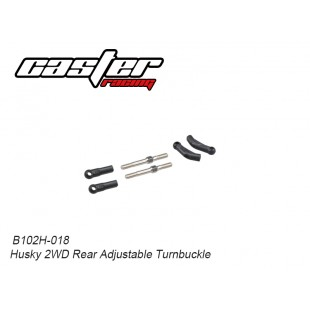 B102H-018 Husky 2WD Rear Adjustable Turnbuckle
