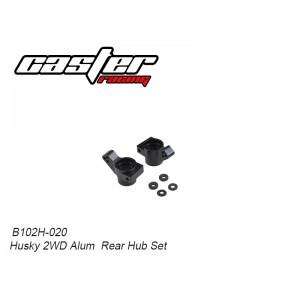 B102H-020 Husky 2WD Alum Rear Hub Set