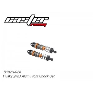 B102H-024 Husky 2WD Alum Front Shock Set