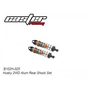 B102H-025 Husky 2WD Alum Rear Shock set