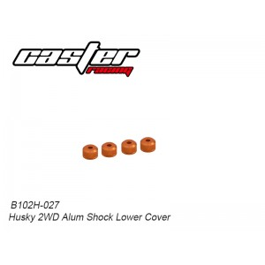 B102H-027 Husky 2WD Alum Shock Lower Cover