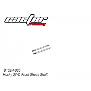B102H-028 Husky 2WD Front Shock Shaft