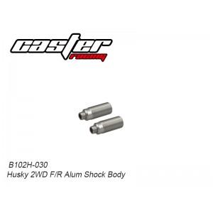 B102H-030 Husky 2WD F/R Alum Shock Body