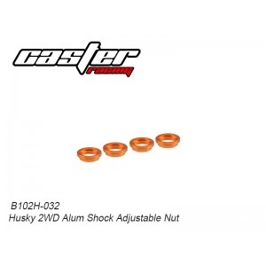 B102H-032 Husky 2WD Alum Shock Adjustable Nut