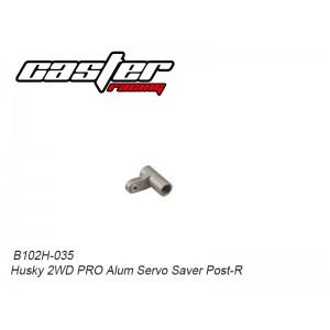 B102H-035 Husky 2WD PRO Alum Servo Saver Post-R