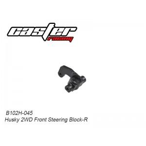 B102H-045 Husky 2WD Front Steering Block-R