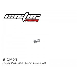 B102H-048 Husky 2WD Alum Servo Save Post
