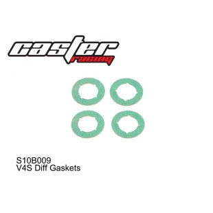 S10B009  V4S Diff Gaskets