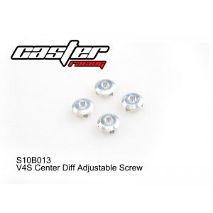 S10B013  V4S Center Diff Adjustable Screw