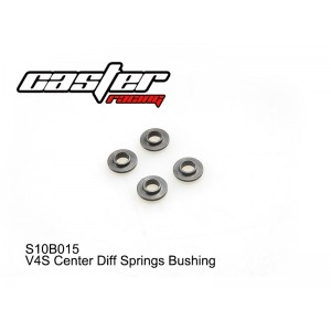 S10B015  V4S Center Diff Springs Bushing