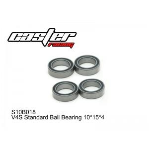 S10B018  V4S Standard Ball Bearing 10x15x4