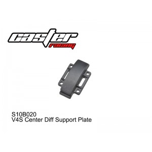 S10B020  V4S Center Diff Support Plate